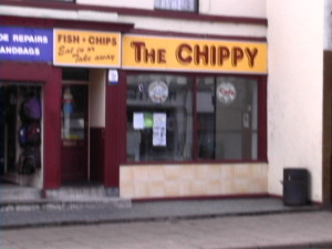 O for some REAL English fish 'n chips ..