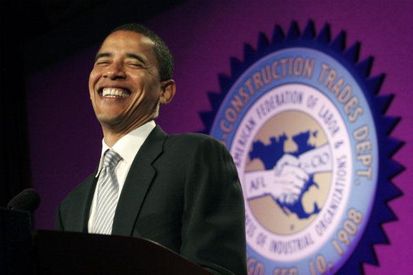 Obama smirking pic ...