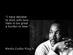 Martin Luther King quote ..