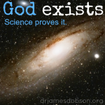 In the beginning, God created ...