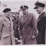 Field Marshall Montgomery at Burtonwood 1949