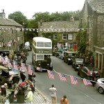 Reunion at Dobcross, location scene from Yanks..