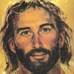 Face of Jesus by Richard Hook