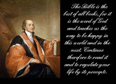 John Jay, First Supreme Court Justice...