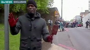 Islamic Jihadist Muslim Terrorist slaughter on the streets of London in broad daylight.. Click to enlarge