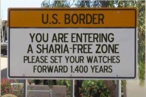 Shari'ah Law freezone...