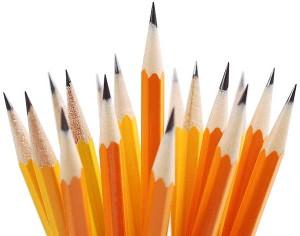 pencils galore...