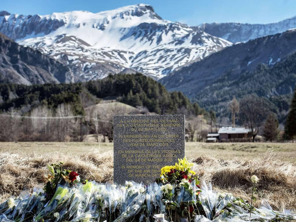 Marble memorial...