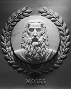 Face of Moses in the House of Representatives...
