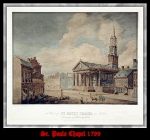 St. Paul's Chapel, New York, 1799