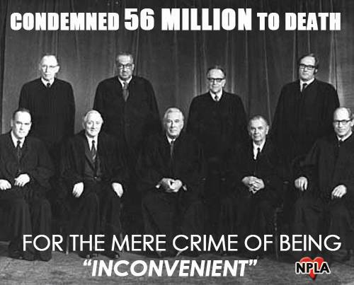 Black robed executioners...