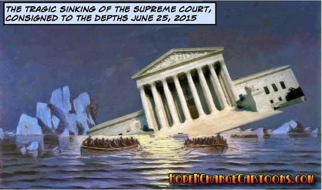 Supreme Court sinks away from the Biblical tenets on its facade...