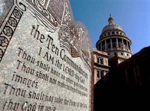 Ten Commandments on full display at Texas Capitol...
