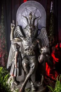 Satanic Baphomet in Detroit... Demonic
