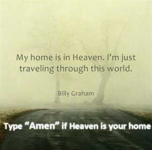 Billy Graham traveler...