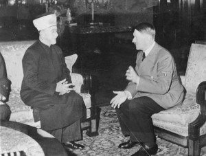 Haj Amin al-Husseini plotting with Hitler, November 1941...