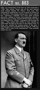 Hitler fact..