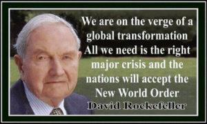David Rockefeller and NWO Aug 6 2016...