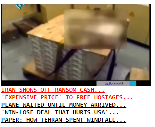 Iran shows off Obama ransom money... 5 Aug 2016...