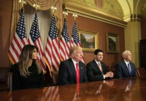 Trump/Pence ready to roll with Paul Ryan and Congress... Melania the Jackie Kennedy of her day.